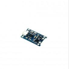 Защитна платка (BMS) за литиево йонни батерии за 1 клетка -  1 Ампер